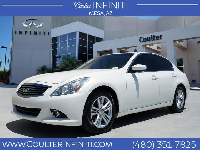 Pre-Owned 2011 INFINITI G25 Journey