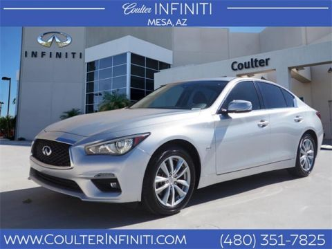 Certified Pre-Owned 2018 INFINITI Q50 2.0t PURE